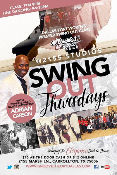 Swing Out Thursdays at 2155
