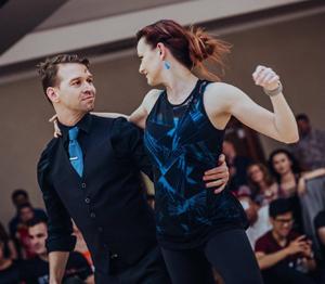 WCS Instructors Joel & Amanda Gorman