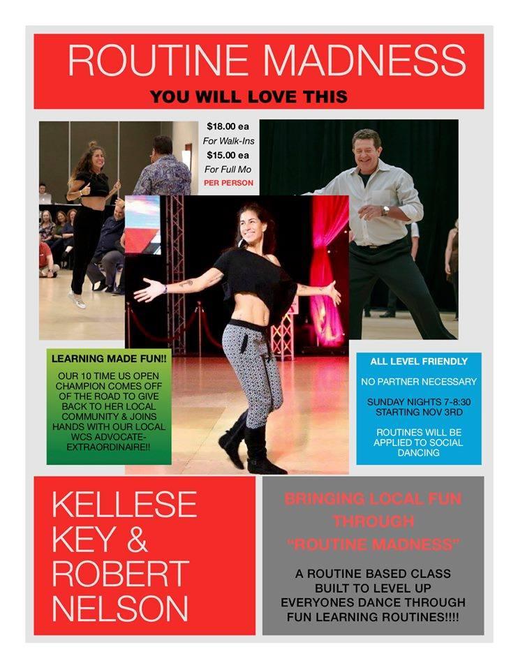 Kellese Key and Robert Nelson teach new WCS class